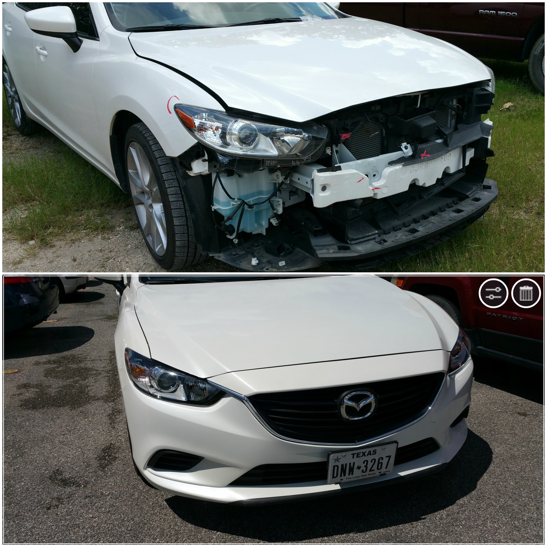 2015 Mazda-6 Front End collision