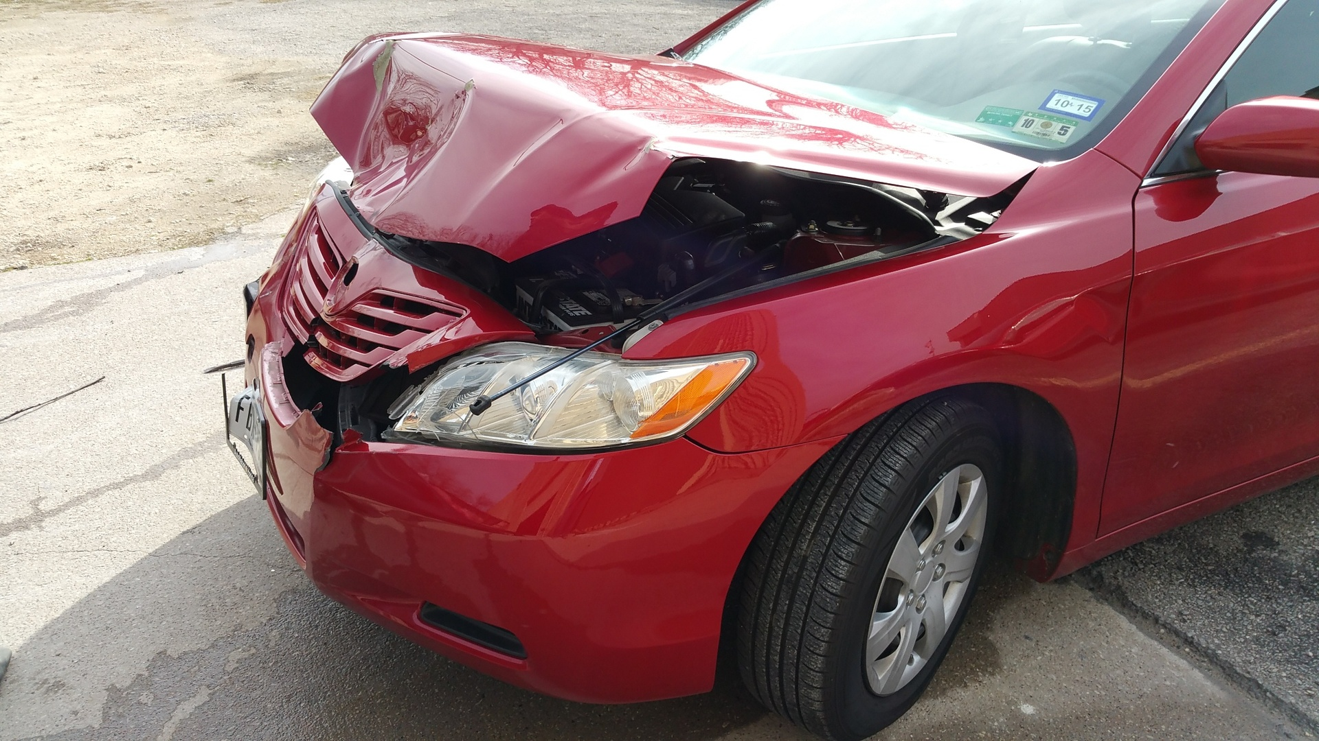 2011 Toyota Camry - Front end collision