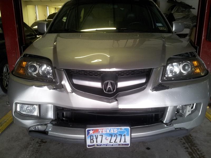 2006 Acura MDX - before