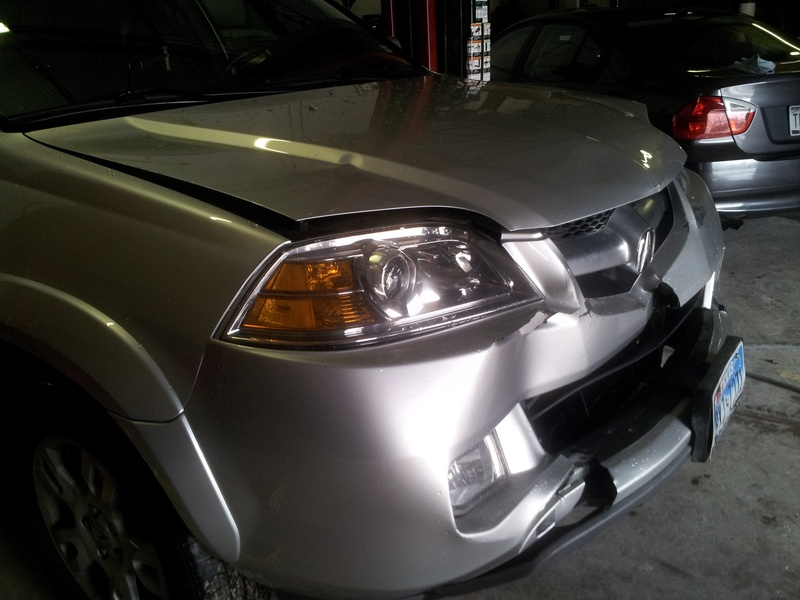 2006 Acura MDX - before